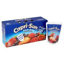 Capri Sun Summer Berries Juice Drink (10x200ml)