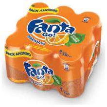 Fanta ...................  Soft   Drink  330ml Can (24 Per Case)