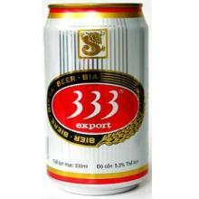 Wholesales 333 Sai Gon  Beer  in 330ml Tin