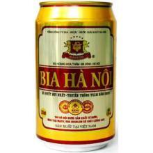 Wholesales Hanoi Beer in 330ml Tin