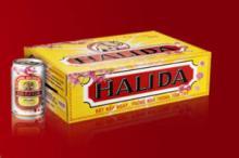 Halida Beer in 330ml Tin