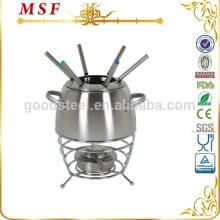 MSF egg shape body wire rack cheese maker fondue