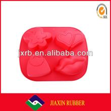 Various and beautiful silicone chocolate bar mold