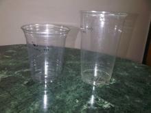 plastic disposable PET Beer glasses.