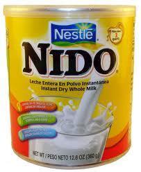 Nido powder milk for children