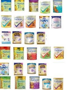 Powder milk for children and baby