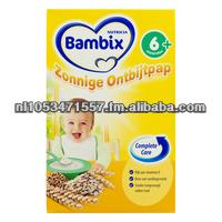 Bambix Baby Breakfast cereals and rice porridge