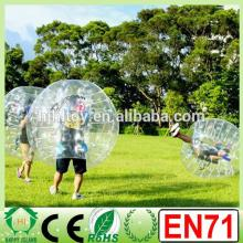 Dia1.2m/1.5m/1.7m bubble football soccer