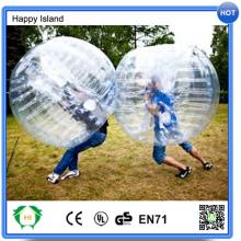 Hot sale high quality bumping play with 1.2 / 1.5m PVC bubble football