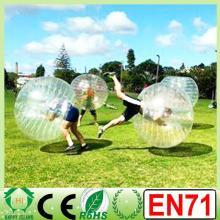 CE CN71 0.8mm/1.0mm PVC/TPU bubble football soccer