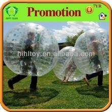 Dia1.2/1.5/1.7m air bubble ball for football,bubble football
