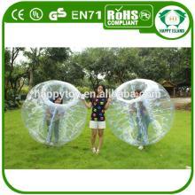HI CE 1.2m/1.5m/1.7m dia PVC/TPU soccer bubble ball,bubble football soccer,bouncing ball adult