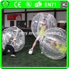 HI CE PVC/TPU high quality and good price bubble football soccer, funny inflatable soccer