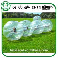 HOT SALE pvc ball body bouncing ball bubble football inflatable bubble