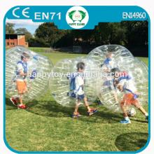 HI EN14960 popular funny inflatable buddy bumper ball,bubble football,inflatable soccer ball for kid