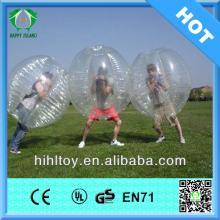 HI CE transparent PVC bubble football