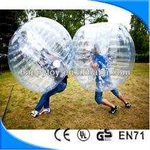 HI CE  funny  inflatable bumper ball bubble football for adult