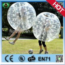 HI 2014 funny product! TPU/PVC human water bubble ball, soccer bubble, bubble football
