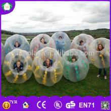 HI Funny product! TPU/PVC inflatable giant outdoor play ball, soccer bubble, bubble football