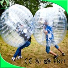 Top quality PVC/TPU soccer bubble,bubble football,giant inflatable ball
