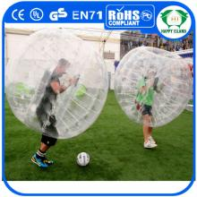 HI Exciting body game 0.8mm TPU/PVC inflatable adult bubble football,bumper ball,crazy loopy ball