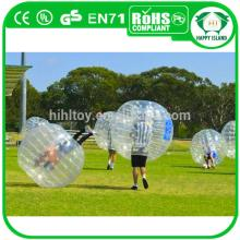 Summer hot sale PVC/TPU funny inflatable ball suit ,loopy ball,bubble football