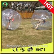 HOT SALE  pvc   ball  body  bouncing   ball  bubble foot ball