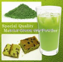 Healthy no food additive matcha green tea powder & tea powder from dried mulberry leaves etc.
