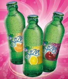 Soza Flavoured Sparkling Mineral Water