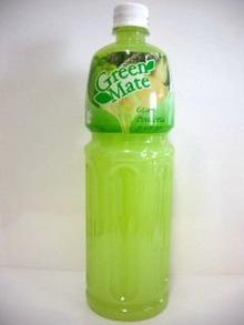 "soft drink guava+pineapple juice 25% high quality good taste and various flavour ""greenmate&quo"