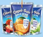 Capri Sun Juice Drink Pouches 177ml