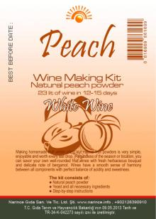 Peach Wine Making Kit