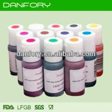 Edible cake decorating/fondant gel color/ 12 different colors