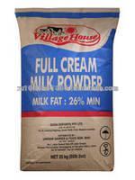Full Cream Milk Powder Milk Fat 26%