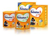 Bebelac Nestle infant milk