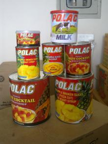 polac pineapple 565gms and 3kg