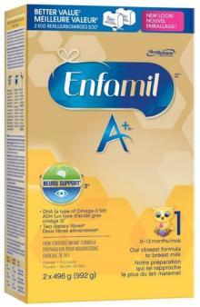 Enfamil A+ Powder Refill Box, 992g