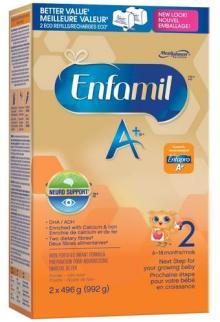Enfamil A+ 2 Powder Refill Box, 992g