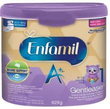 Enfamil A+ Gentlease Powder Tub, 629g