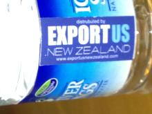 EXPORT US NEW ZEALAND Ice River Springs Water