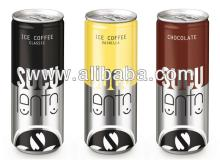 Suculento gourmet: Ice coffee classic, ice coffee vanilla, chocolate