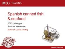 Spanish Canned Fish & Seafood - Private Label - June'13 catalogue
