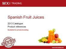 Spanish Fruit Juices - Private Label - June 2013