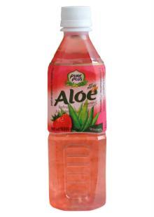Aloe vera refresh with honey
