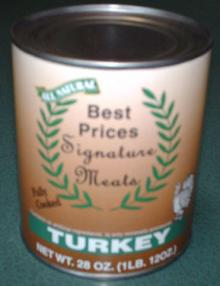 All Natural Turkey Chunks