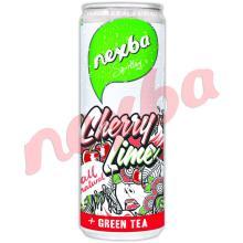 Nexba Sparkling Cherry Lime Ice Tea