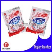 hot sale custom printed plastic sweet lollipop honey packaging bag printing candy bags for gift