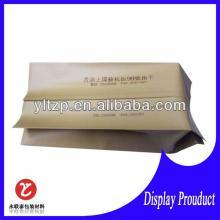 laminated custom printed side gusseted plastic tea bag
