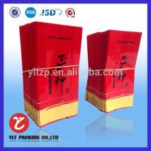 Customize printed cigarette tea bags/unbleached tea bags