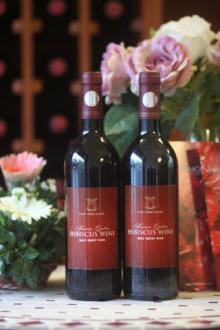 Roselle wine